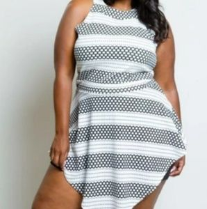 Other - Plus Size Sleeveless Romper